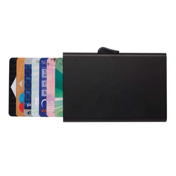 RFID pouzdro C-Secure na karty - Černá