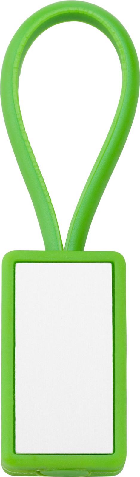 Plastic key holder - Light Green