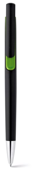 BRIGT. Ball pen with metallic finish - Light Green