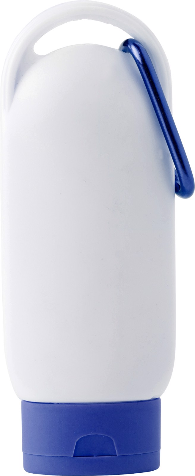 PE sunscreen lotion bottle - Cobalt Blue
