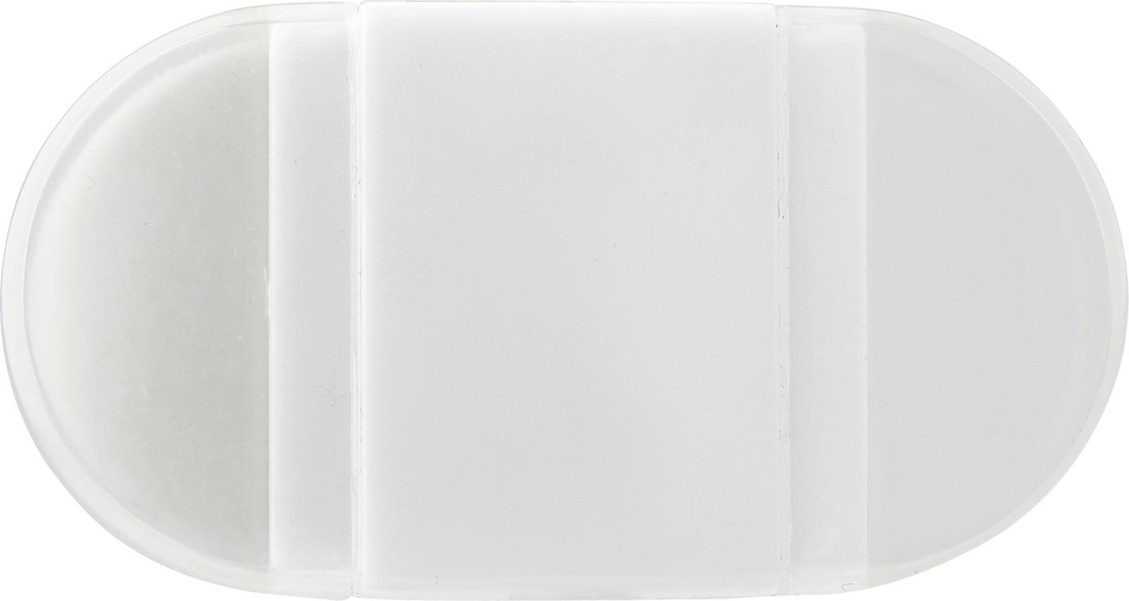PS pencil sharpener and eraser - White