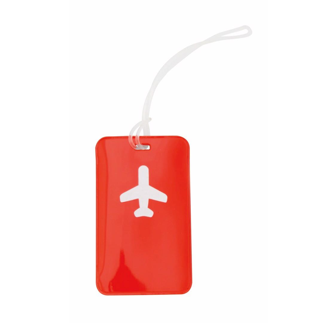 Identificador Maletas Raner - Rojo