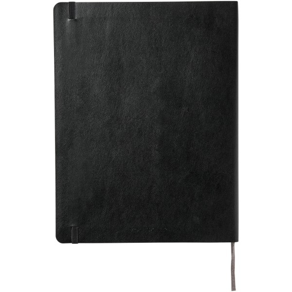 Classic XL soft cover notebook - dotted - Solid black
