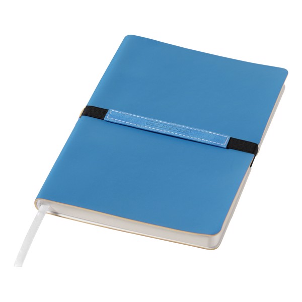 Zápisník s měkkou obálkou A5 Stretto - Modrá