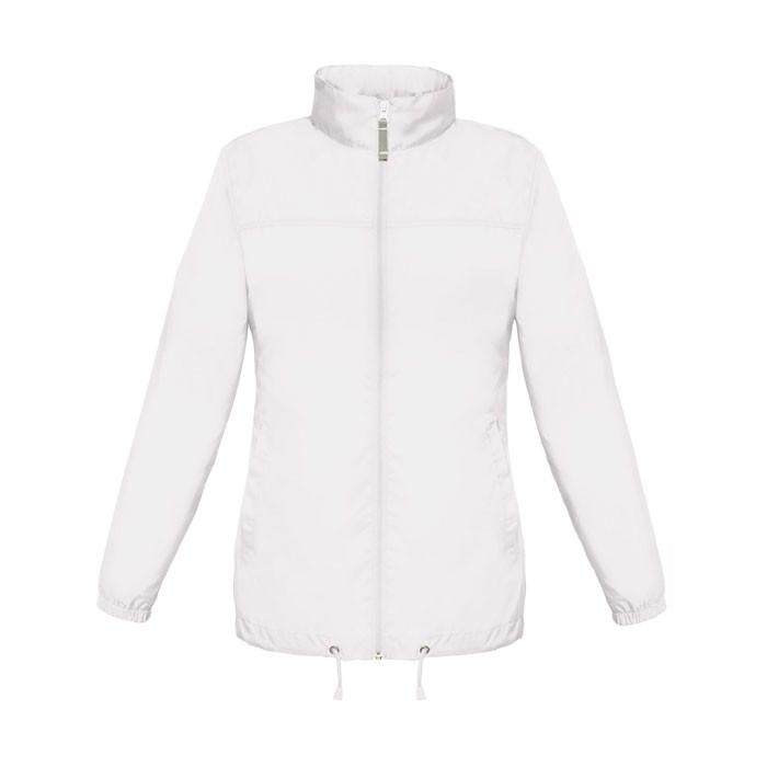 Ladies Windbreaker 70 g/m2 Sirocco Women Jw902 - White / XS