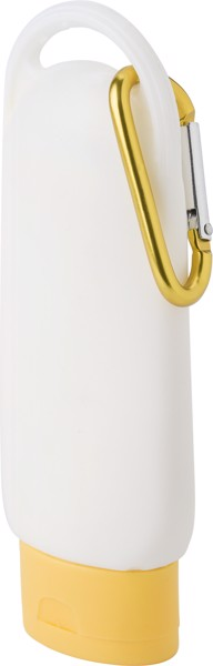 PE sunscreen lotion bottle - Yellow