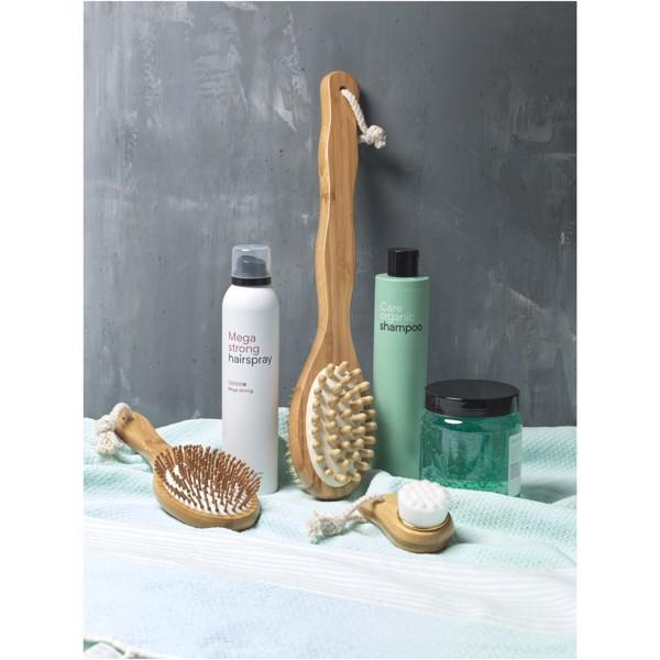 Orion Bambus Duschbürste mit 2 Funktionen und Massagegerät
