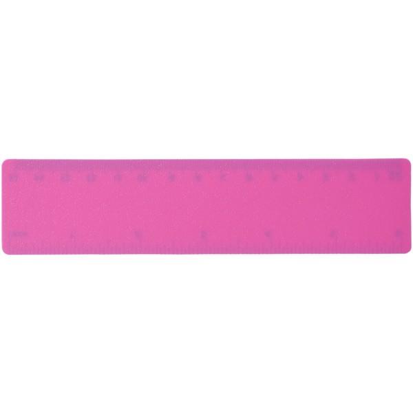Rothko 15 cm plastic ruler - Magenta