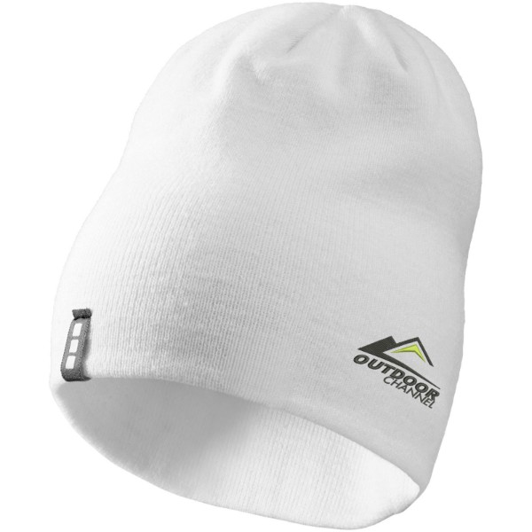 Level beanie - White