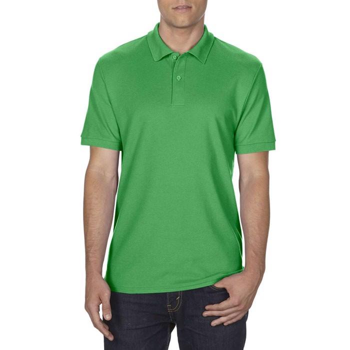 Men's Polo Shirt 207/220 g/m Dryblend Double Pique 75800 - Irish Green / L