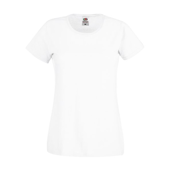 Lady-Fit T-shirt 145 g/m² Lady-Fit Original Tee 61-420-0 - White / S