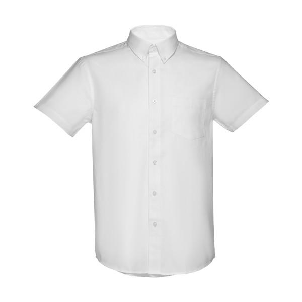 LONDON. Ανδρικό πουκάμισο oxford - Λευκό / S