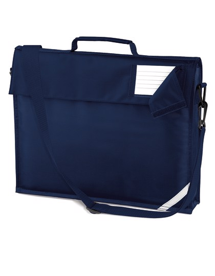 Junior Book Bag With Strap - French Navy
