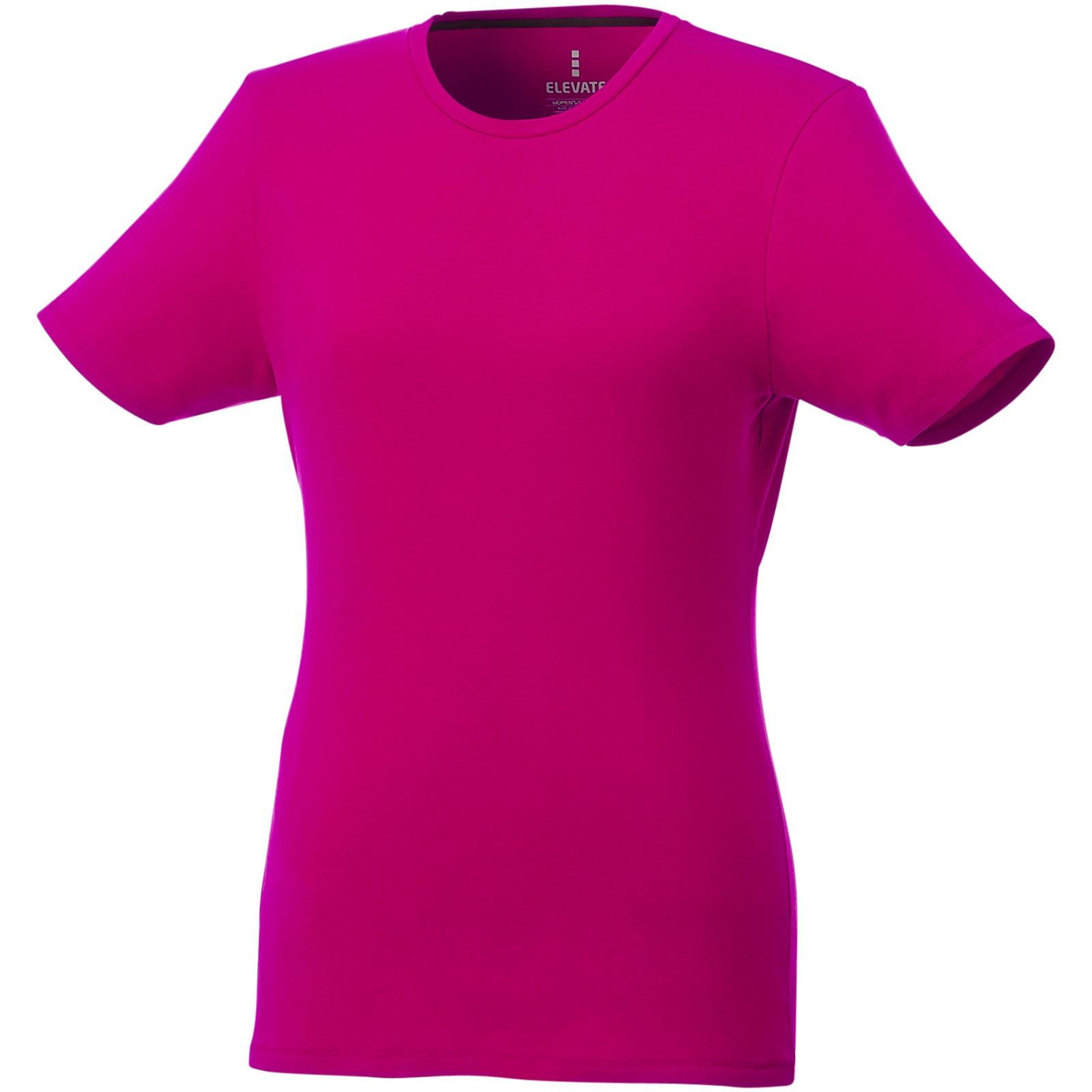 Balfour short sleeve women's GOTS organic t-shirt - Magenta / M