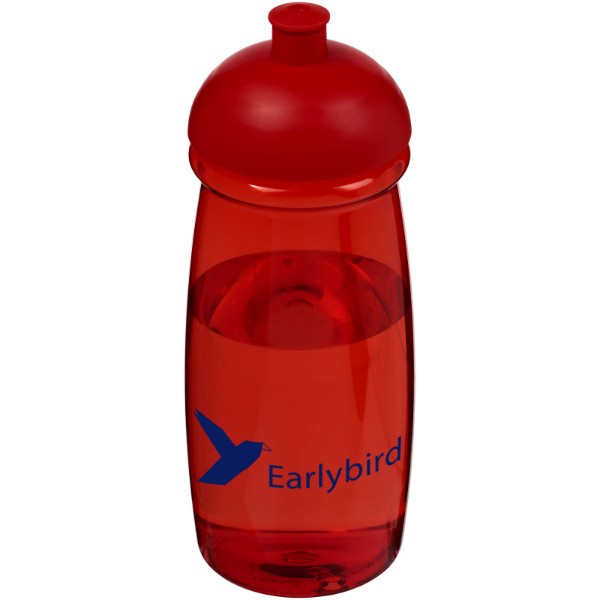H2O Pulse® 600 ml dome lid sport bottle - Red