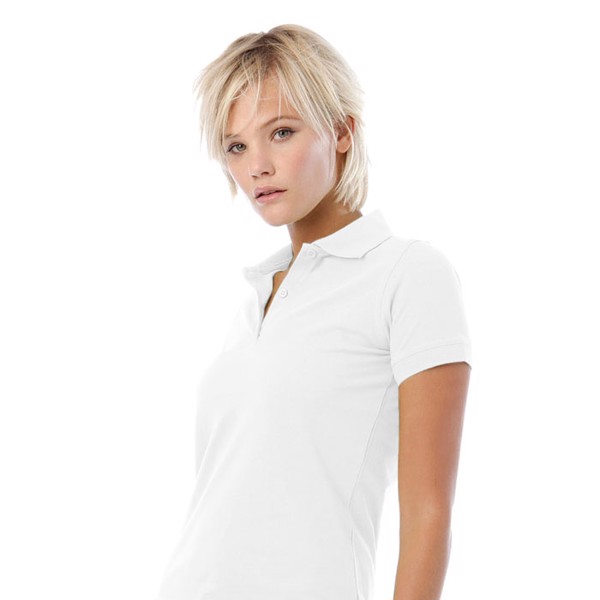 Ladies Polo Shirt 180 g/m2 Safran Pure Women Polo Pw455 - White / XXL