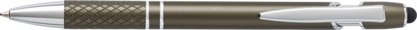 Aluminium ballpen - Grey