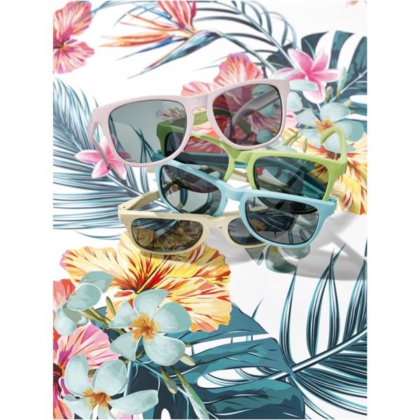 "Gafas de sol de paja de trigo ""Rongo"" - Rosa"