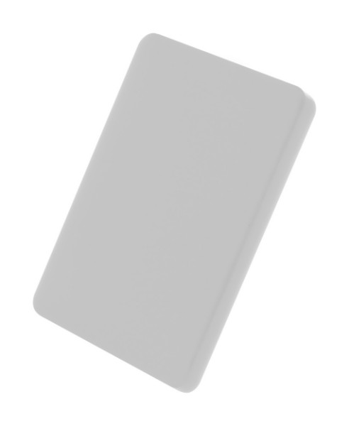 Custom Made Keyring CreaFob - White