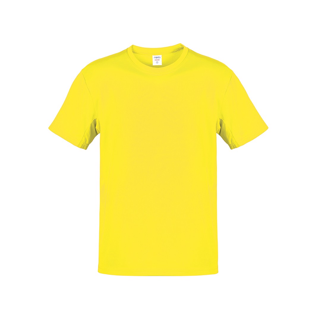 Camiseta Adulto Color Hecom - Amarillo / S