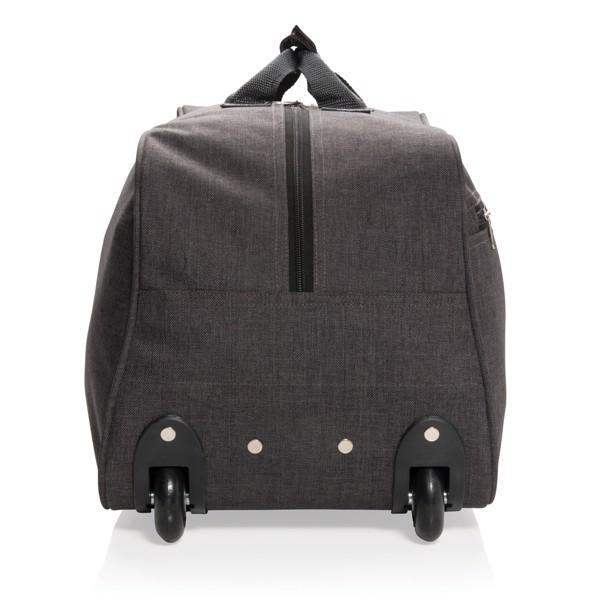 Víkendová taška s kolečky - Antracitová