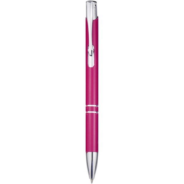 Aluminiowy długopis automatyczny Moneta - Magenta
