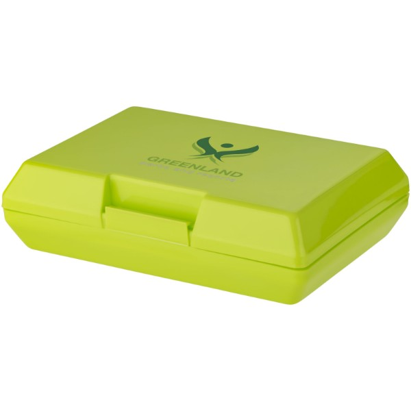 Oblong lunch box - Lime