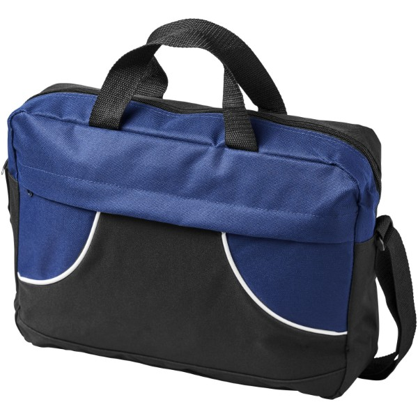Chicago conference bag - Solid black / Navy