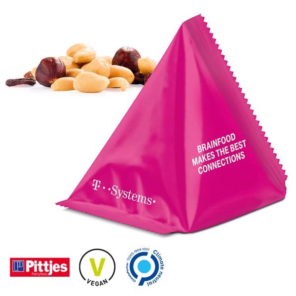 Snack Tetrahedron M+M´S Peanut - White