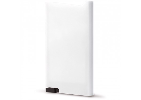 RFID card holder ABS - White