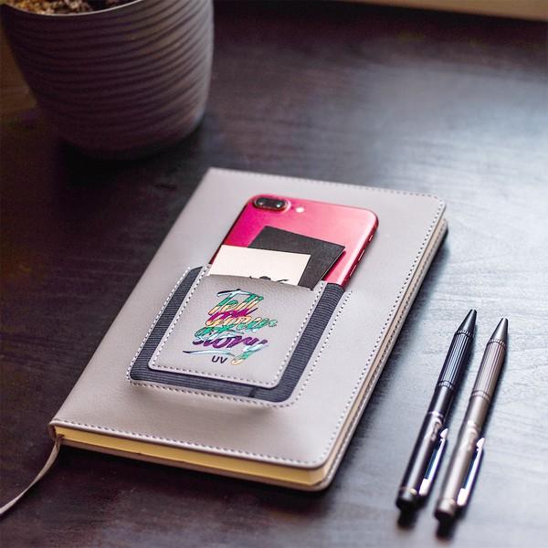 Notes z kieszonką na telefon Eibar