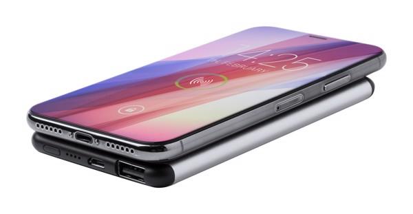 USB polnilna baterija Boxlem – srebrna