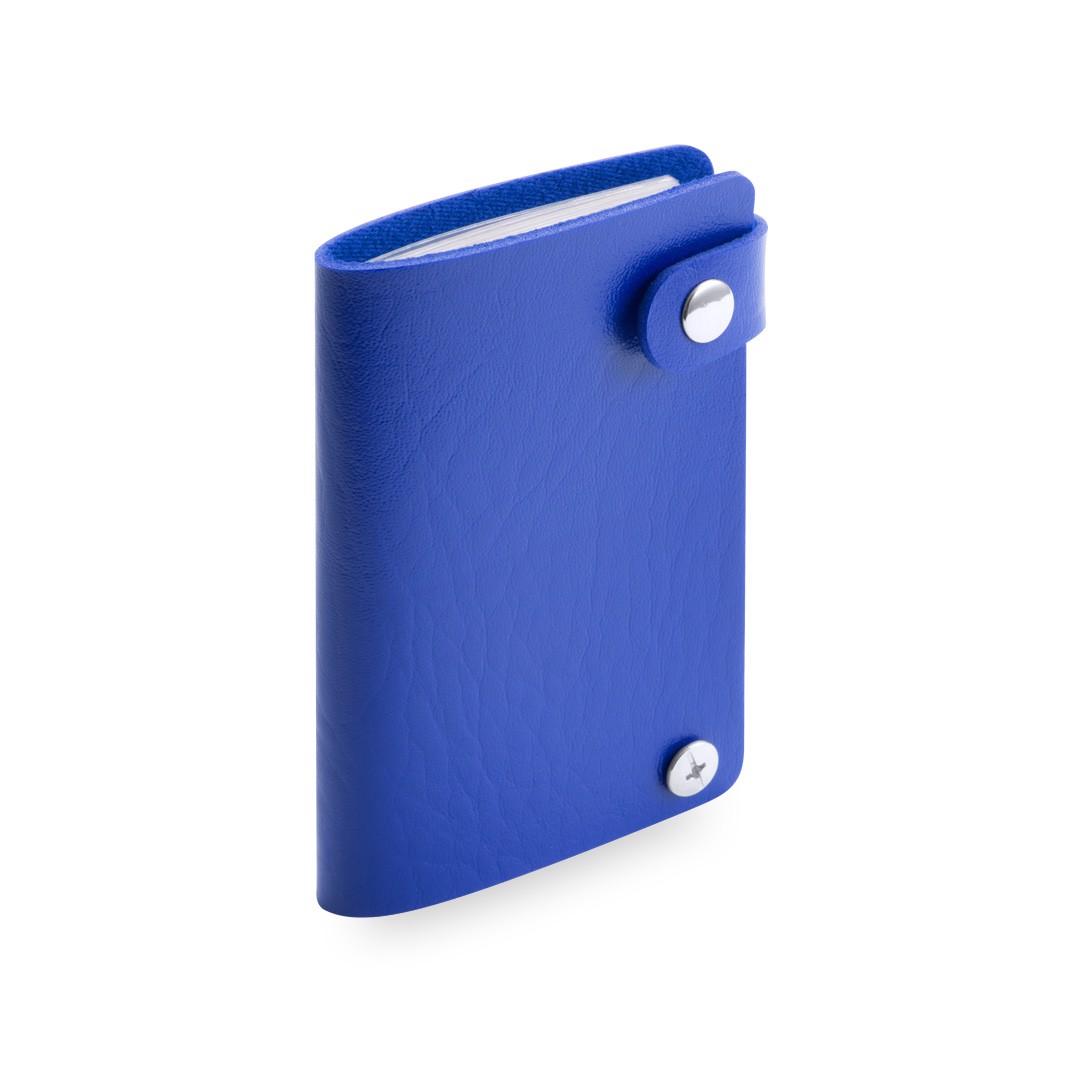 Tarjetero Top - Azul