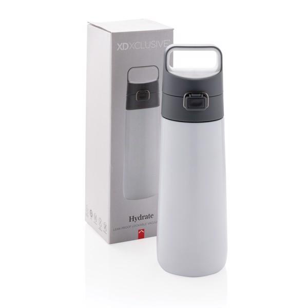 Nepropustná termo láhev Hydrate - Bílá
