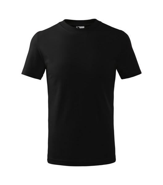 Tričko dětské Malfini Classic - Černá / 158 cm/12 let