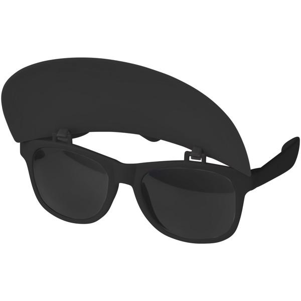 Sluneční brýle Miami s kšiltem - Černá