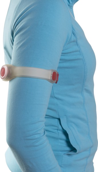 Silicone arm strap - Red