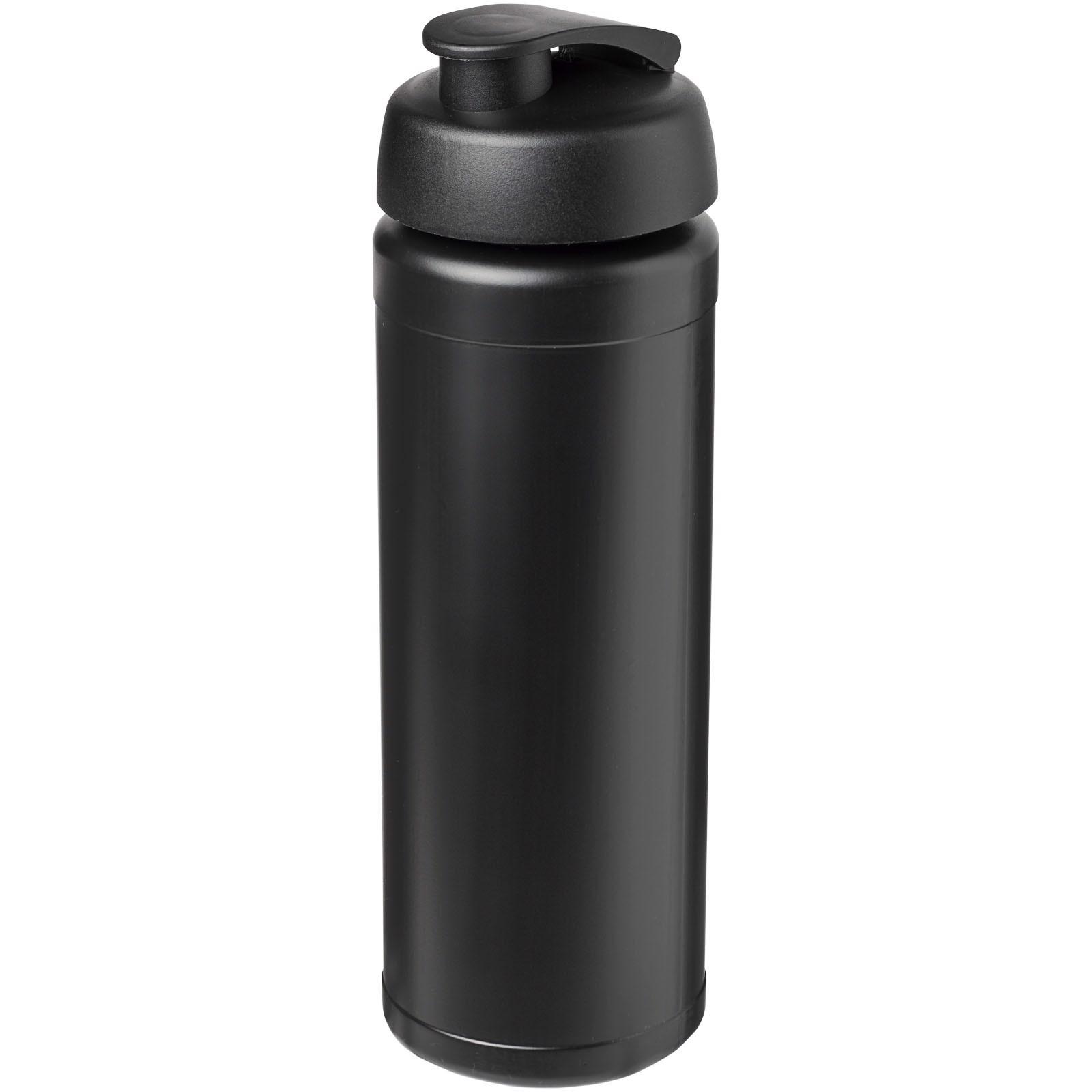 Sportovní láhev s vyklápěcím víčkem Baseline® Plus grip 750 ml - Černá