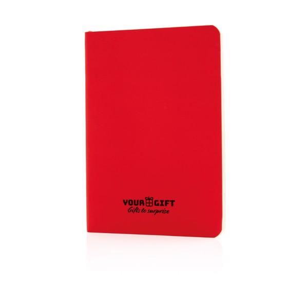 Základní poznámkový blok s měkkou vazbou - Červená