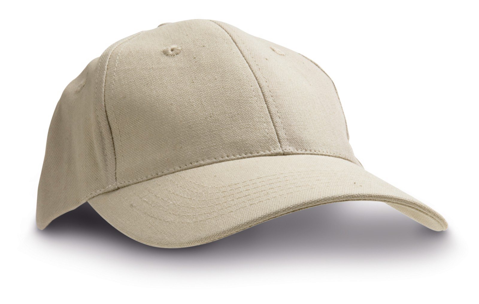 CHRISTIAN. Καπέλο με καμβά από 100% βαμβάκι - Μπεζ