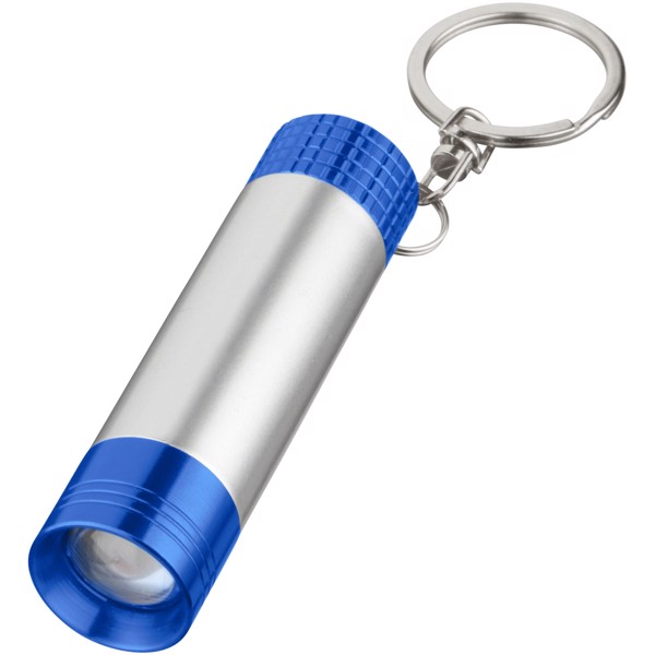 Bezou light-up key light - Royal blue / Silver