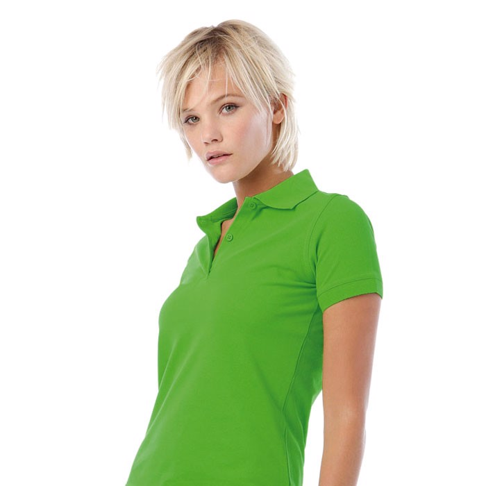 Ladies Polo Shirt 180 g/m2 Safran Pure Women Polo Pw455 - Real Green / M