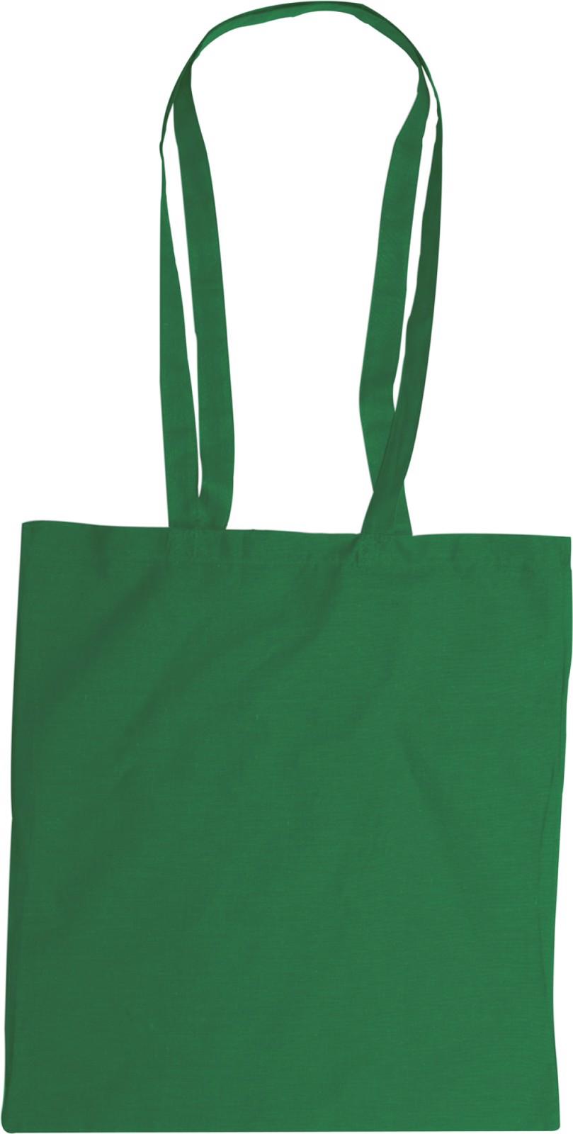 Cotton (110 gr/m²) bag - Green