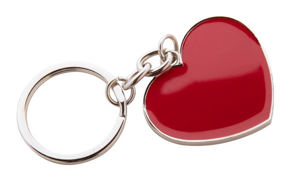 Přívěšek Na Klíče Valentine - Červená