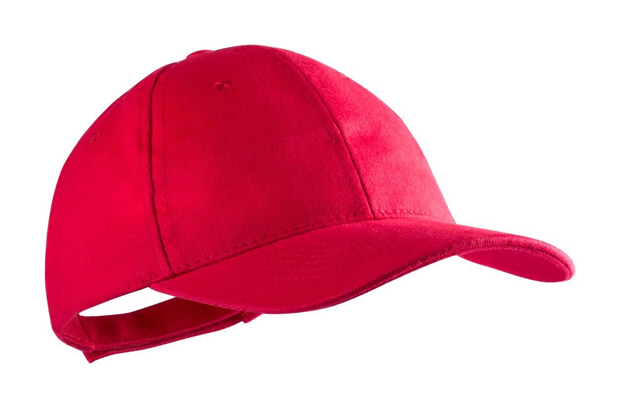 Baseballová Čepice Rittel - Červená