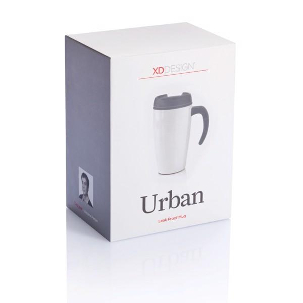Hrnek Urban - Bílá / Černá