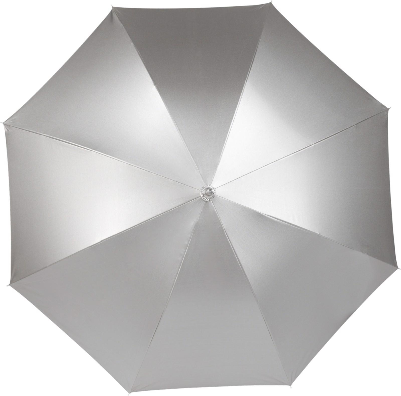 Pongee (190T) umbrella - Silver