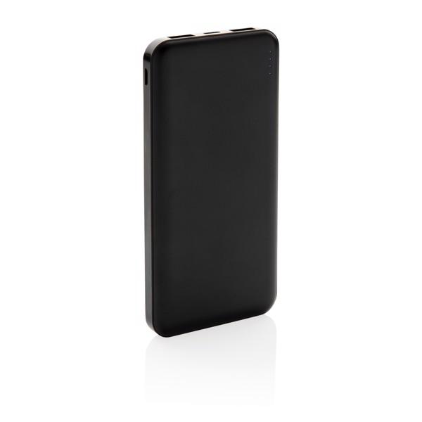 10 000 mAh zsebben hordható powerbank - Fekete