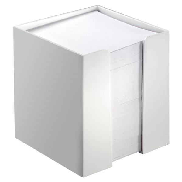 "Note Box ""Cube"" - White"