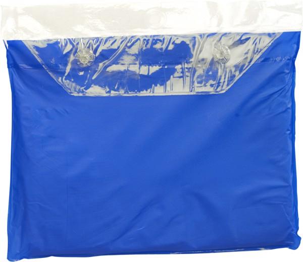 Vinyl poncho - Blue